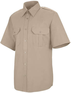 JCPenney Horace Small SP66 Short-Sleeve Sentinel Basic Security Shirt-Big & Tall
