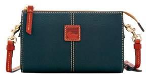 Dooney & Bourke Pebble Grain Small Janine Crossbody Shoulder Bag - BLACK - STYLE