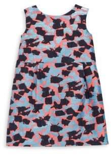 Milly Minis Little Girl's Petal Brocade Shift Dress