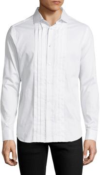 Karl Lagerfeld Men's Cotton Sportshirt