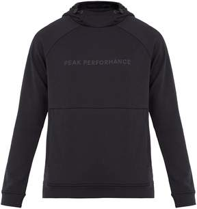 Peak Performance Pulse hooded performance sweatshirt