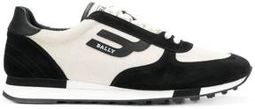 Bally two tone lace-up sneakers