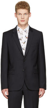 Paul Smith Navy Wool Blazer