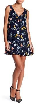 Cooper & Ella Agnes Bird Floral Print Dress