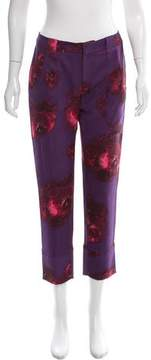 Timo Weiland Mid-Rise Abstract Print Pants