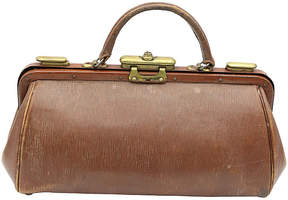 One Kings Lane Vintage English Leather Doctor's Bag - Rose Victoria