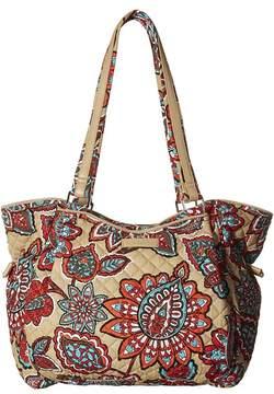 Vera Bradley Iconic Glenna Satchel Bags - DESERT FLORAL - STYLE