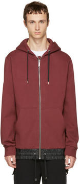 Public School Burgundy Langston Zip Hoodie