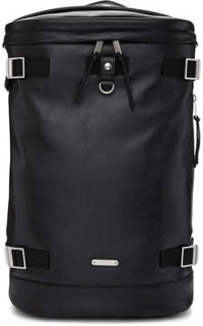 Saint Laurent Black Leather Rivington Race Backpack