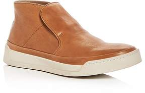 John Varvatos Men's Remy Leather Slip-On Sneakers