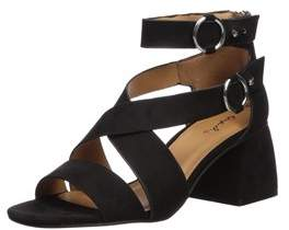 Qupid Women's Cray-06 Heeled Sandal.