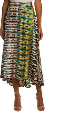 Eva Franco High-Low Maxi Skirt