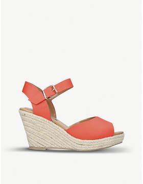 Miss KG Paisley espadrille wedge sandals