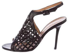 Alexa Wagner Leather Caged Sandals