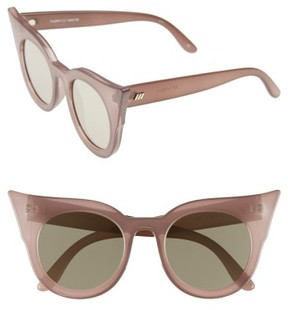 Le Specs Women's 'Flashy' 51Mm Sunglasses - Taupe