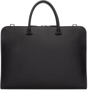 Prada Black Leather Briefcase