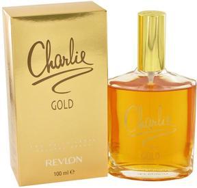 CHARLIE GOLD by Revlon Eau De Toilette Spray for Women (3.3 oz)