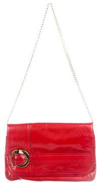 Milly Leather Shoulder Bag