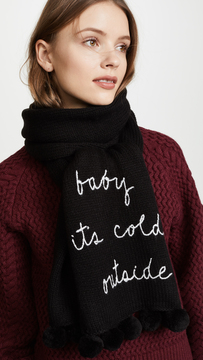 Kate Spade Baby Its Cold Outside Muffler
