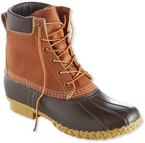 L.L. Bean Men's Tumbled-Leather L.L.Bean Boots, 8 Padded Collar