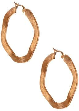 Rivka Friedman 38mm Wavy Hoop Earrings