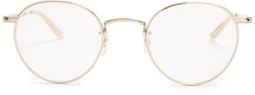 Garrett Leight Wilson round-frame glasses