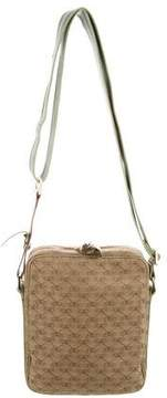 Anya Hindmarch Leather-Trimmed Woven Crossbody