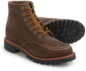 "Chippewa Bomber Mountaineer Moc-Toe Field Boots - Leather, 6"" (For Men)"