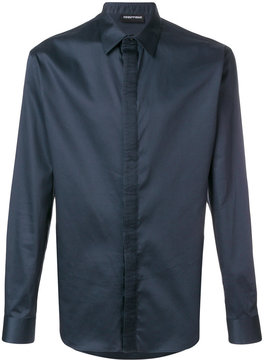 Emporio Armani pleated detail shirt