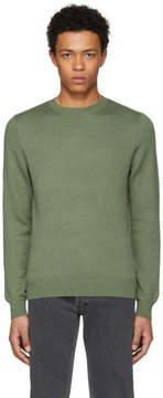 A.P.C. Green Logo Cia Pullover