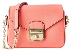 Longchamp Le Pliage Heritage Xs Leather Crossbody. - CORAL - STYLE