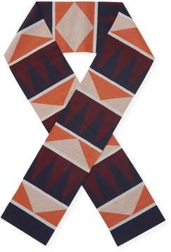 Valentino Women's Geometric Rectangle Scarf