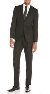 DKNY Black Pinstripe Suit