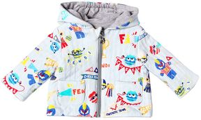 Fendi Reversible Hooded Doubled Jersey