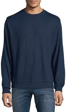 Hyden Yoo Men's Hacci Long-Sleeve Sweatshirt