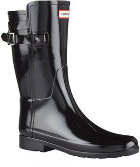 Hunter Refined Back Strap Wellington Boots