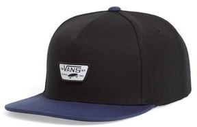 Vans Men's Mini Patch Ii Snapback Cap - Black