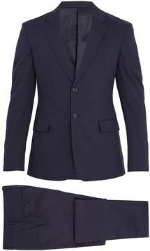 Prada Two-button single-breasted cotton-blend suit