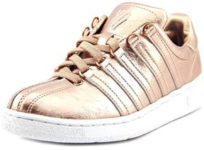 K-Swiss Classic Vn Aged Foil Women Round Toe Synthetic Bronze Sneakers.