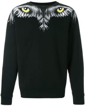 Marcelo Burlon County of Milan eye and wing sweatshirt