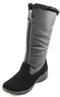 Khombu Amber Round Toe Synthetic Snow Boot.