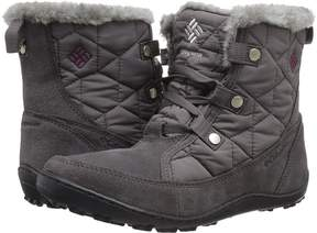 Columbia Minxtm Shorty Omni-Heattm Women's Hiking Boots