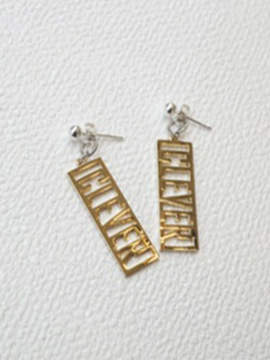 Camilla And Marc 287 Cm Logo Earring