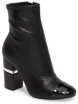 Marc Fisher Women's Prisa Cap Toe Bootie