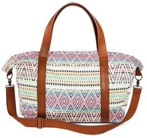Mossimo Supply Co. Women's Global Print Weekender Handbag Cream - Mossimo Supply Co.