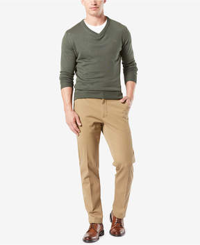 Dockers Stretch Straight Fit Workday Smart 360 Flex Khaki Pants D3