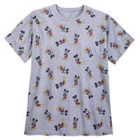 Disney Mickey Mouse Allover T-Shirt for Men - Plus Size