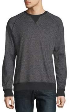 2xist Heathered Raglan-Sleeve Sweatshirt