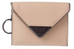 Rebecca Minkoff Molly Leather Metro Card Case. - NUDE - STYLE