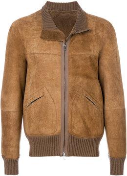 Dondup slim-fit zipped jacket